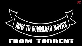 Download Movies From Torrent