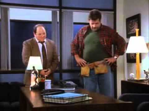 Seinfeld George Under His Desk