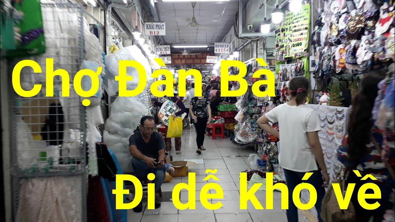 Chợ Đại Quang Minh là Chợ phụ kiện lớn nhất sài gòn – Chợ Đàn Bà