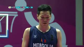 Full Match Bola Basket Thailand Vs Mongolia 87   86   Asian Games 2018