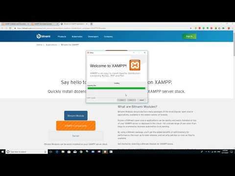 XAMPP Server Installing Guide for Windows PC thumbnail