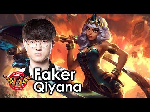 Faker picks Qiyana