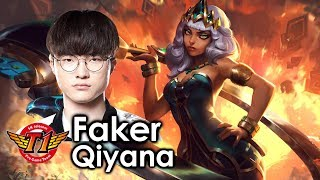 Faker picks Qiyana