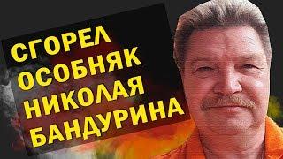 В Подмосковье сгорел особняк юмориста Николая Бандурина