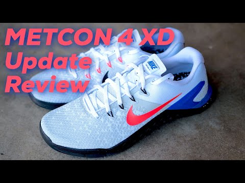 Nike Metcon 4 XD UPDATE Review - YouTube