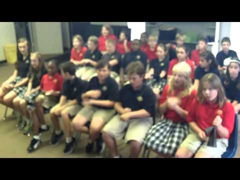Running Man Song by 5th grade Immanuel Lutheran School Memph