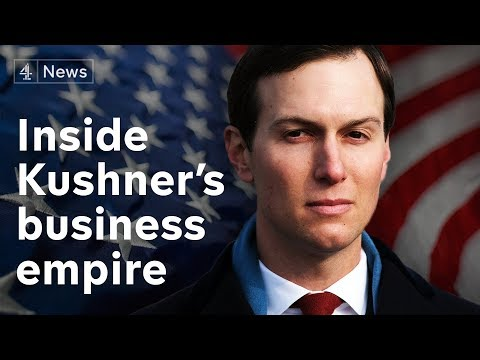 Jared Kushner: power hungry and intent on enriching himself?