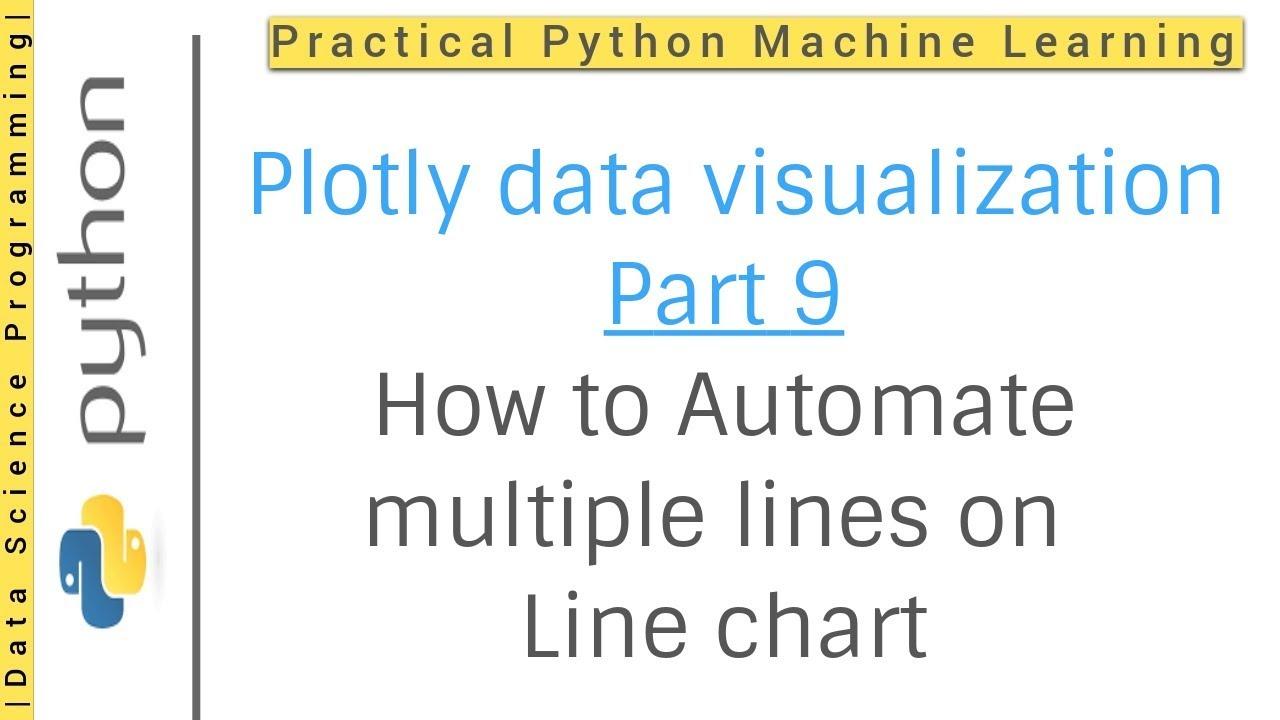 Plotly Python - Plotly Automate multiple lines on the line chart | Plotly  Python data visualization