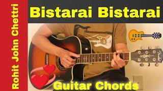 Bistarai bistarai - Guitar chords | lesson