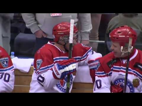 Vladimir Putin Displays Hockey Skills