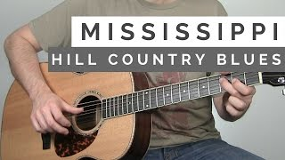 How To Play A Crazy Mississippi Hill Country Rhythm | Tuesday Blues #135