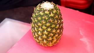 Amazing Fruits Cutting Skills In Namdaemun Market / Korean Street Food / 남대문 시장 과일 컷팅 스킬