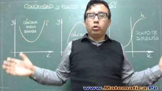 CONCAVIDAD Y PUNTOS DE INFLEXION - CONCEPTO