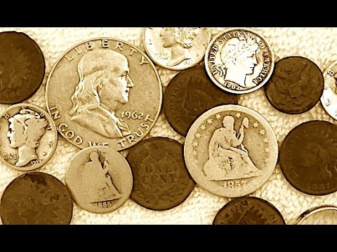 LOADS of Treasure Found At An Old Midwest Courthouse! Metal Detecting Seated Coins + More!