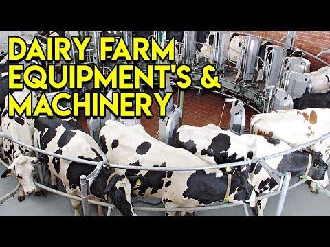 DAIRY FARM Equipment's & Machinery || Full Documentary