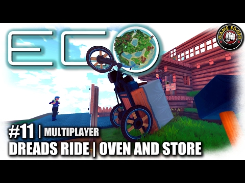 Eco | EP11 | First Vehicle, Oven and Store | Global Survival | Let's Play Eco Gameplay (S1)