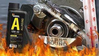 Bizol Allround 10W40 Jak skutecznie olej chroni silnik? 100°C