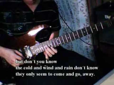 Oasis - Stand By Me (Guitar Cover with Lyrics)