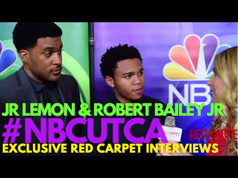 JR Lemon & Robert Bailey Jr #NightShift at NBCUniversal's Summer Press Tour #NBCUTCA #TCA16