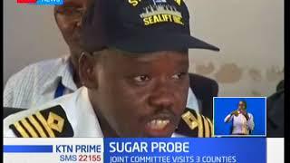 Parliament Committee grills agencies in Mombasa on sugar importation saga