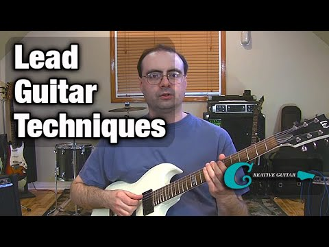 Creative Guitar: Lead Guitar Techniques