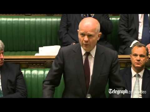 William Hague addresses House of Commons over Ukraine crisis