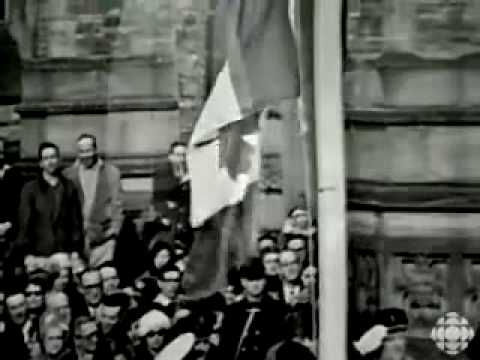 O Canada- February 15, 1965, the Maple Leaf flys for the first time