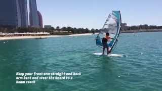 Windsurfing   Heli Tack with Watercooled