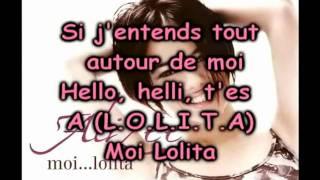 Alizée - Moi Lolita Lyrics