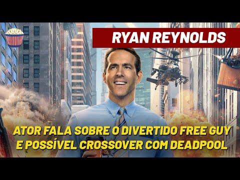 Deadpool pode ganhar crossover com Free Guy? Ryan Reynolds responde!