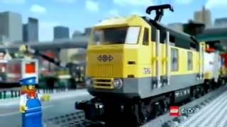 Lego city 7939 tren de mercancias en Eurekakids thumbnail