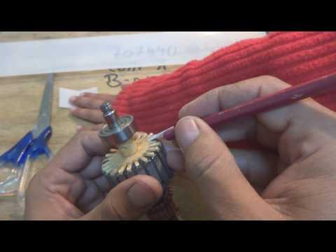 Universal motor rewinding. AC series motor repair. Part 2