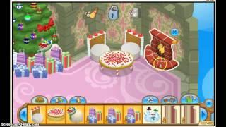 Animal Jam: Decorating the Sky Kingdom Den for Christmas :D