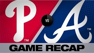 Harper, Eflin propel Phillies past Braves | Phillies-Braves Game Highlights 9/18/19