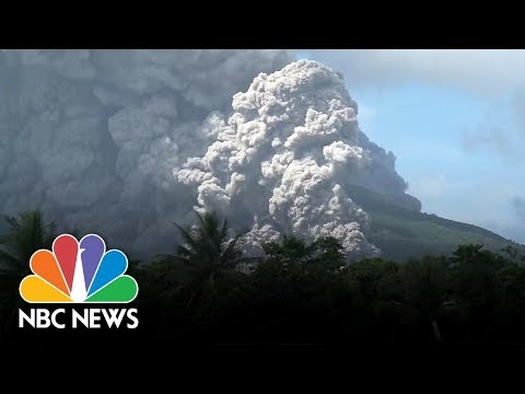Mayon Volcano In Philippines Erupts | NBC News
