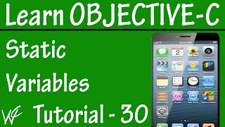 Free Objective C Programming Tutorial for Beginners 30 - Static Variable in Objective C