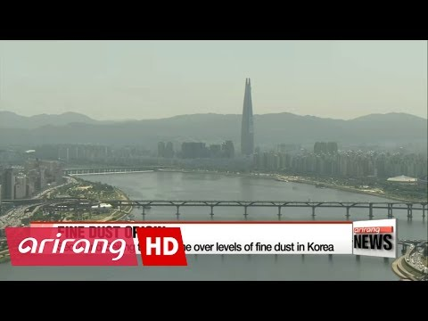 Seoul and Beijing trade blame over unhealthy levels of fine dust in Korea