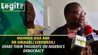 How Nigeria's democracy has fared in the last 20 years - Jega, Ezekwesili | Legit TV