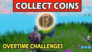 """Collect Coins in Featured Creative Islands"" LOCATIONS GUIDE! DÉFIS DES HEURES SUPPLÉMENTAIRES DE FORTNITE"