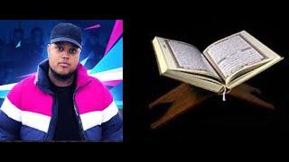 Chunkz reciting the Qura'an. Surah Yaseen