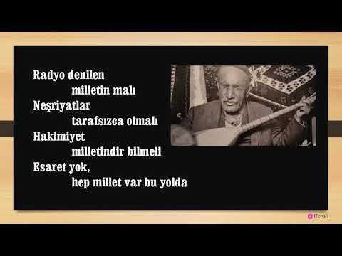 AşıkVeysel'den Vatan Haini Olur Mu? Hain Menderes Veysel'i Köyüne Hapsedince şu şiirini Yazmış.
