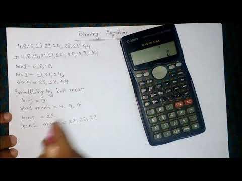 Binning   Binning Method   Binning Algorithm   Binning In Data Mining