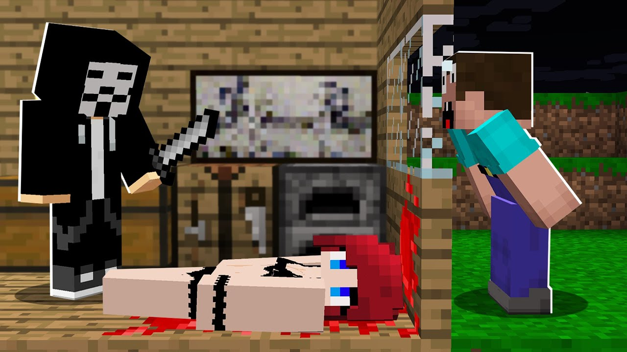 WHAT HAPPENS in this HOUSE at 3:00 am? in Minecraft Noob vs Pro