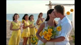 Лимонная свадьба Ольги и Олега