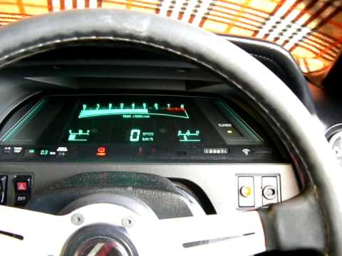 Z20 Soarer Dash Demonstration.  Eboost2