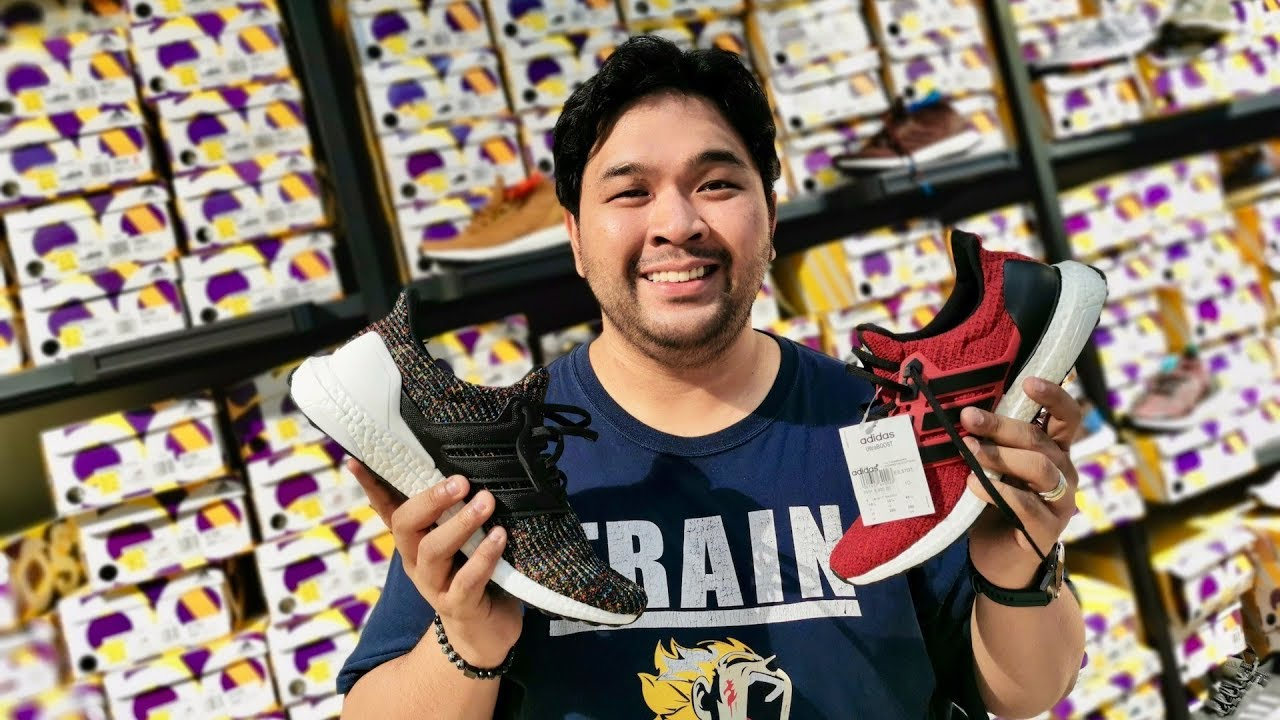 BEST ADIDAS OUTLET STORE IN THE PHILIPPINES RIGHT NOW? 50% OFF ULTRA BOOST!