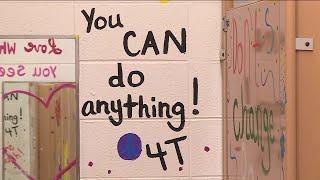 Bathroom graffiti a source of inspiration thanks to elementary school teachers