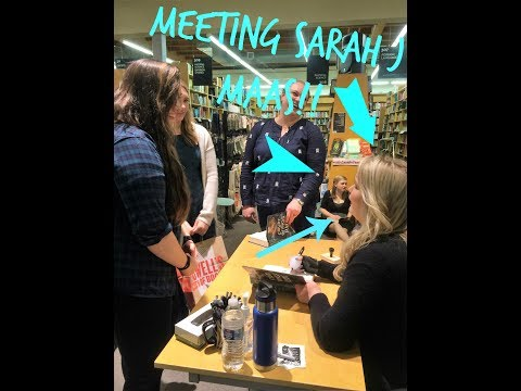 Meeting Sarah J Maas!