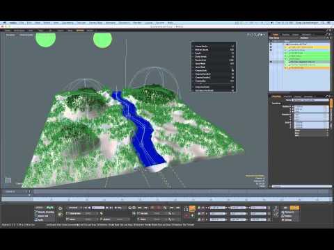 Procedural River System Part 1