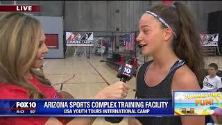 USA Youth Tours International Camp